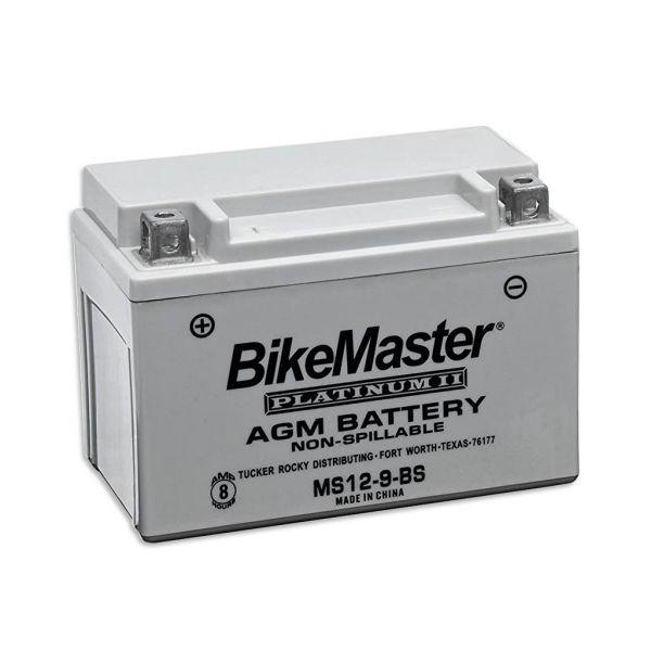 BikeMaster 12v AGM Platinum II Sealed Battery